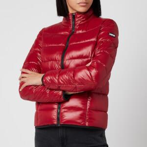 HUGO Women's Famoni-1 Padded Jacket - Open Red