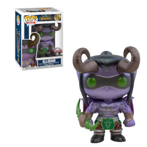Blizzard 30th BlizCon World of Warcraft Metallic Illidan EXC Pop! Vinyl Figure