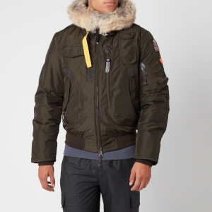 Parajumpers Men's Gobi Faux Fur Hooded Bomber Jacket - Sycamore