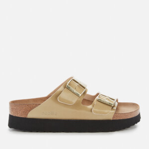 Birkenstock Womens's Arizona BF Sandals - Metallic Gold