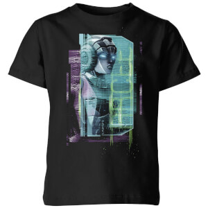 T-shirt Transformers Arcee Glitch - Noir - Enfants