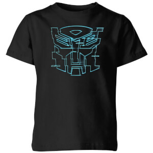 Transformers Autobot Glitch Kids' T-Shirt - Black