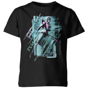 T-shirt Transformers Arcee Tech - Noir - Enfants