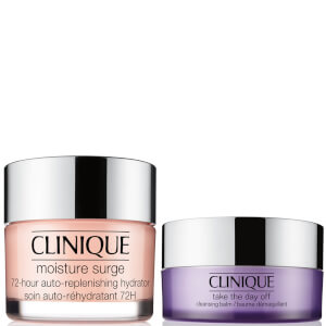 Clinique Cleansing Balm and Moisture Surge Bundle
