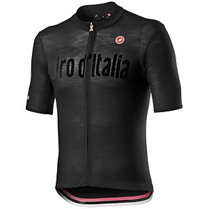 Castelli Giro D'Italia Heritage Maglia Nera Jersey - Nero Vintage