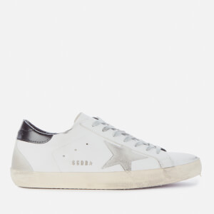 Golden Goose Deluxe Brand Men's Superstar Leather Trainers - White/Ice/Black