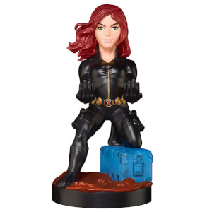 Marvel Gameverse Collectable Black Widow 8 Inch Cable Guy Controller and Smartphone Stand
