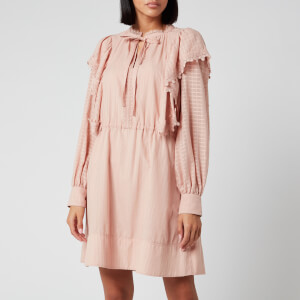 See By Chloé Women's Cotton Dress - Cloudy Rose