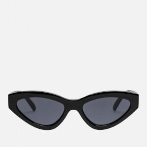 Le Specs Women's Synthcat Sunglasses - Black