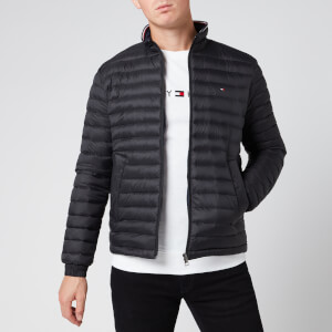 Tommy Hilfiger Men's Packable Down Jacket - Jet Black