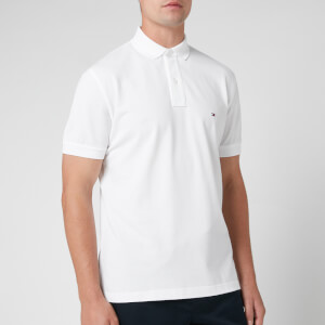 Tommy Hilfiger Men's Regular Fit Polo Shirt - White