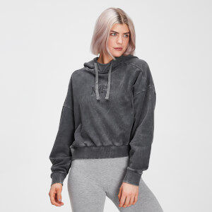 MP Damen Adapt Hoodie – Carbon Acid-Wash