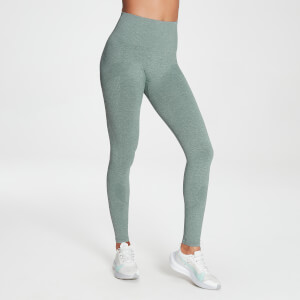 MP Women's Raw Training Seamless Leggings - Washed Green