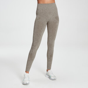 MP Women's Raw Training Seamless Leggings - Taupe