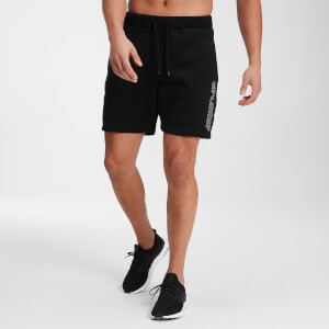MP Men's Outline Graphic Shorts - Black