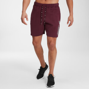 MP Herren Outline Grafik Shorts - Washed Oxblood