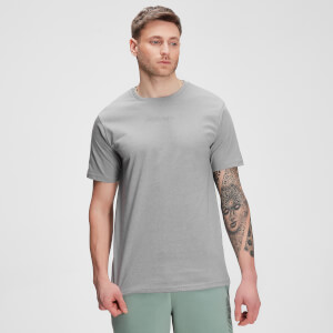 MP Tonal Graphic Short Sleeve T-shirt til mænd – Storm Grey Marl