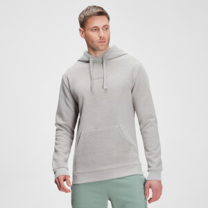 MP Men's Tonal Graphic Hoodie – Storm Grey Marl