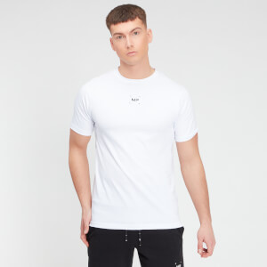 MP Men's Central Graphic Short Sleeve T-Shirt - White