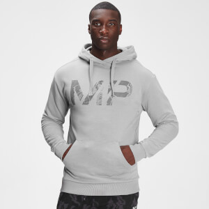 MP Men's Adapt Tonal Camo Hoodie- Storm Grey Marl
