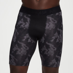 MP Men's Adapt Camo Base Layer Shorts -Black Camo