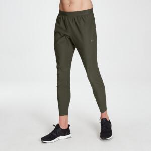 Raw Training 樸質系列 男士梭織慢跑褲 - 深綠