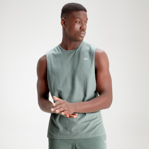 MP Men's Essential Drop Armhole Tank - Washed Green