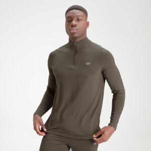 MP Men's Essentials Training 1/4 Zip - Dark Olive