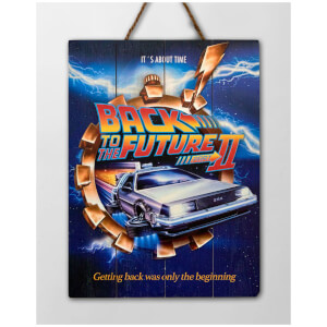 Doctor Collector Back to the Future II WoodArts 3D Print