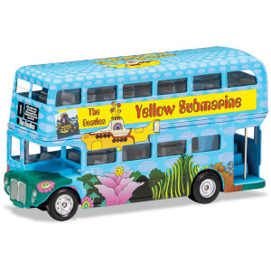 The Beatles London Bus Yellow Submarine Model Set - Scale 1:64