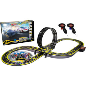Micro Scalextric Batman vs Joker Battery Powered Race Set