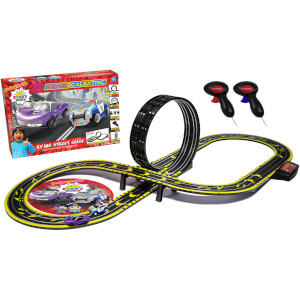 Micro Scalextric Ryan's World Street Chase Battery Powered Race Set