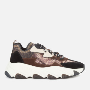 Ash Women's Eclipse Bis Chunky Running Style Trainers - Old Cheetah/Black