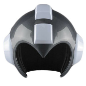 Capcom Mega Man Gray Bubble Lead Wearable Helmet Prop Replica