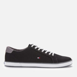 Tommy Hilfiger Men's Harlow Canvas Pumps - Black