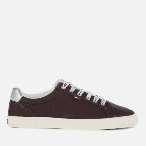 Tommy Jeans Women's Hazel Casual Canvas Trainers - Midnight