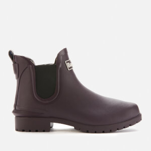 Barbour Women's Wilton Chelsea Ankle Wellies - Eggplant