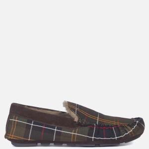 Barbour Men's Monty Moccasin Slippers - Recycled Classic Tartan