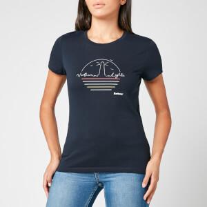 Barbour Women's Auklet T-Shirt - Navy