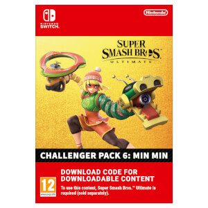 Super Smash Bros. Ultimate - Min Min Challenger Pack - Digital Download