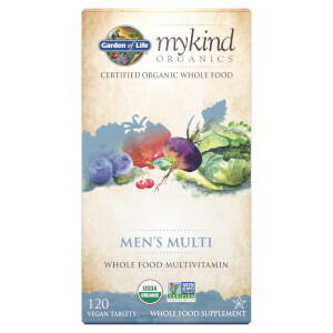 mykind Organics Men's Multi - 120 Tablets