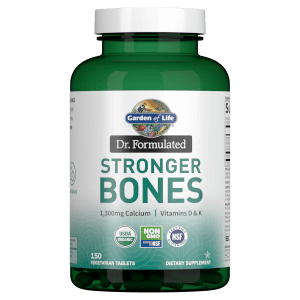 Garden of Life Organic Stronger Bones - 150 Tablets