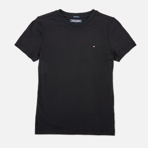 Tommy Hilfiger Boys' Basic Short Sleeve T-Shirt - Meteorite