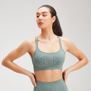 MP Women's Original Bra - Washed Green