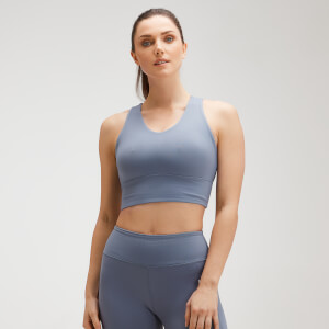 MP Women's Power Longline Sports Bra - Galaxy