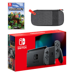 Nintendo Switch (Grey) Minecraft Pack