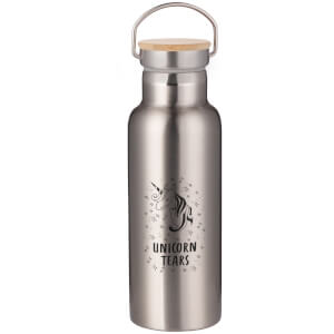 Unicorn Tears Portable Insulated Water Bottle - Steel