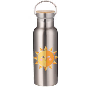Sunshine Portable Insulated Water Bottle - Steel