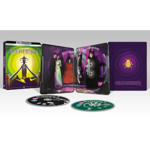 Beetlejuice - Steelbook 4K Ultra HD (Include Blu-Ray 2D) - Esclusiva Zavvi