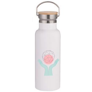 Enlightenment Portable Insulated Water Bottle - White